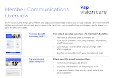 Member Communications Overview